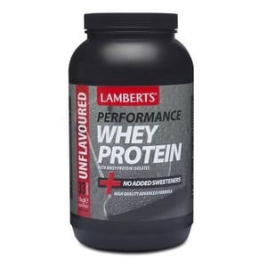 Lamberts Whey Protein Unflavoured (Performance) afbeelding