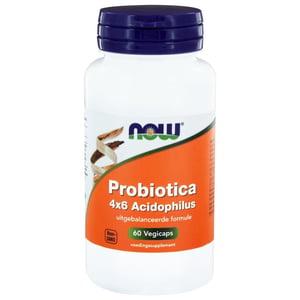 NOW 4 x 6 Acidophilus  (verbeterde formule Probiotica 4x6 Acidophilus) afbeelding