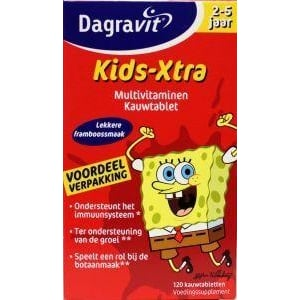 Dagravit Multi kids framboos 2-5 jaar afbeelding