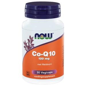 NOW CoQ10 100 mg met Meidoorn afbeelding