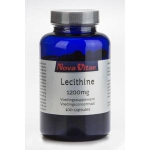 Nova Vitae Lecithine 1200 mg afbeelding