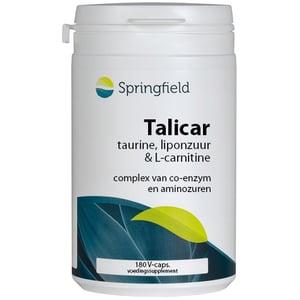 Springfield Talicar (carnitine/taurine/liponzuur) afbeelding