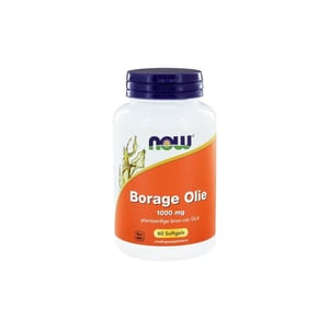 NOW Borage oil 1000 mg afbeelding
