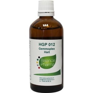 Balance Pharma HGP012 Gemmoplex afbeelding