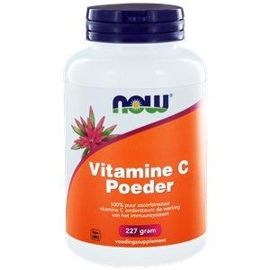NOW Vitamine C poeder ascorbinezuur afbeelding