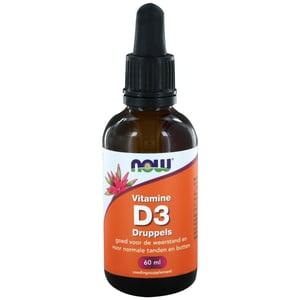 NOW Vitamine D3 Druppels  afbeelding