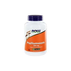 NOW Psylliumvezels 500 mg afbeelding