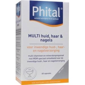 Phital Multi huid haar & nagels afbeelding