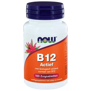 NOW Vitamine B12 actief afbeelding