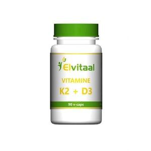 Elvitaal Vitamine K2 & D3 afbeelding