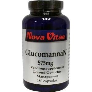 Nova Vitae Glucomannan Konjac 575 mg afbeelding