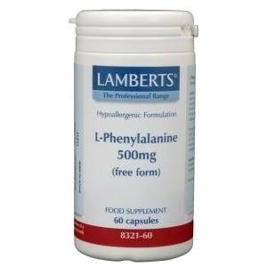 Lamberts L-Phenylalanine 500 mg afbeelding