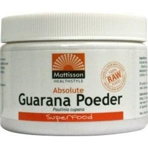 Mattisson Healthstyle Absolute Guarana Poeder Extract afbeelding