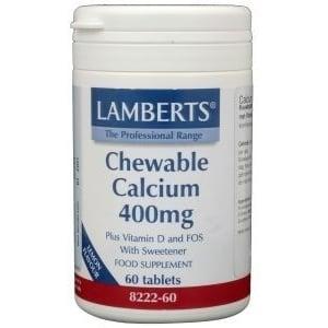 Lamberts Chewable Calcium 400 mg afbeelding