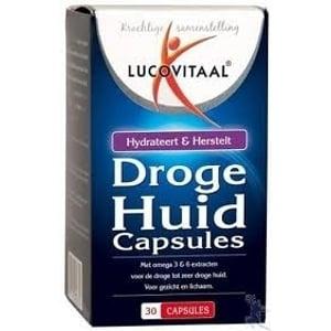 Lucovitaal Droge Huid Capsules met Hyaluronzuur 120 mg afbeelding