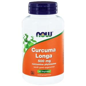NOW Curcuma Longa 500 mg (Curcumine Phytosome) afbeelding