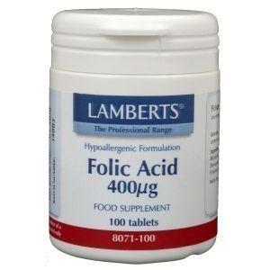 Lamberts Foliumzuur 400 mcg afbeelding
