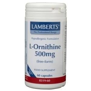 Lamberts L-Ornithine 500 mg afbeelding