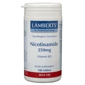 Lamberts Nicotinamide 250 mg afbeelding