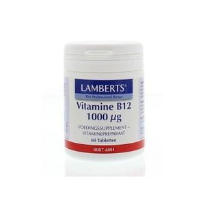 Lamberts Vitamine B12 1000 mcg afbeelding