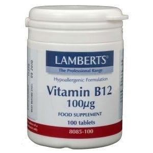 Lamberts Vitamine B12 100 mcg afbeelding