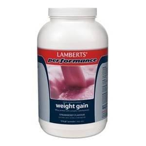 Lamberts Performance Complete Gainer Strawberry (Weight Gain) afbeelding