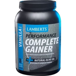 Lamberts Performance Complete Gainer Vanilla (Weight Gain) afbeelding