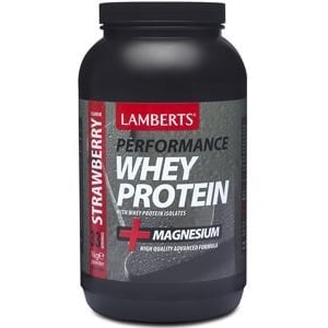 Lamberts Whey Protein Strawberry (Performance) afbeelding