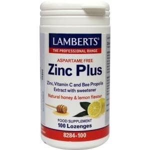 Lamberts Zink Plus Zuigtabletten afbeelding