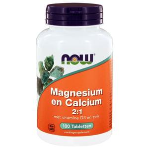 NOW Magnesium & calcium 2:1 afbeelding