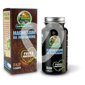 Garden of Life Magnesium Na Inspanning afbeelding