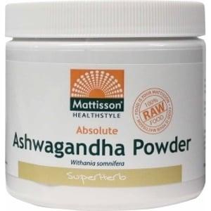 Mattisson Healthstyle Absolute ashwagandha poeder afbeelding