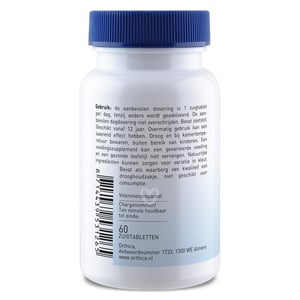 Orthica Co-Enzym B12 zuigtablet afbeelding