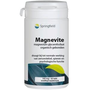 Springfield Magnevite magnesium glycerofosfaat 100 mg afbeelding