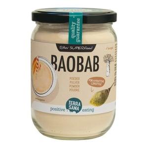 TerraSana RAW baobab poeder in glas afbeelding