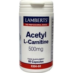 Lamberts Acetyl L-Carnitine 500 mg afbeelding