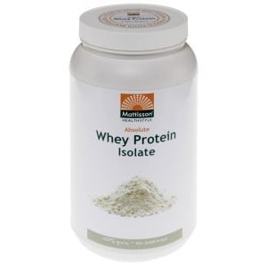 Mattisson Healthstyle Absolute whey protein isolate afbeelding
