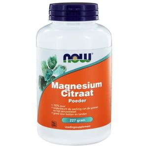 NOW Magnesium Citraat Poeder afbeelding