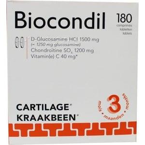 Trenker Biocondil chondroitine/glucosamine vitamine C tabletten afbeelding