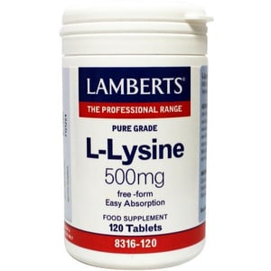 Lamberts L-Lysine 500 mg afbeelding