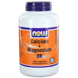 NOW Calcium & Magnesium met D3 en K2 afbeelding