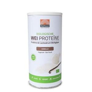 Mattisson Healthstyle Weiproteine Vanille (75%% eiwit, biologische wei) afbeelding