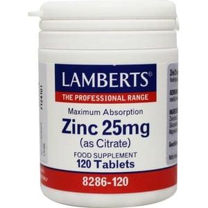 Lamberts Zinc 25 mg (Zinkcitraat) afbeelding