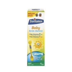 Davitamon Baby vitamine D & K (10 mcg & 150 mcg) afbeelding
