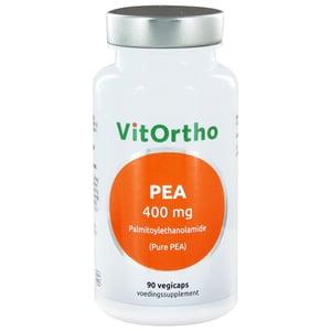 Vitortho PEA 400 mg palmitoylethanolamide afbeelding