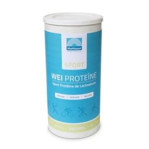Mattisson Healthstyle Wei proteine concentraat sport naturel afbeelding