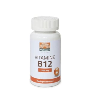 Mattisson Healthstyle Vitamine B12 1000 mcg afbeelding