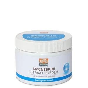 Mattisson Healthstyle Magnesium citraat poeder 16% afbeelding