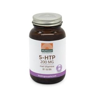 Mattisson Healthstyle 5-HTP 200 mg vitamine B1 & B6 afbeelding