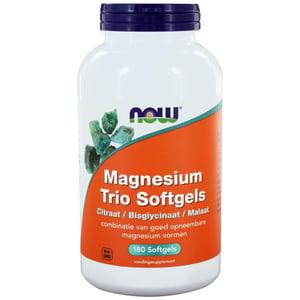 NOW Magnesium trio softgels afbeelding